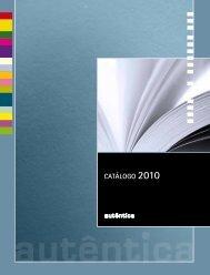 Catálogo 2010 - Autêntica