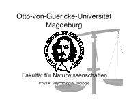 (b/w) Einführung Tag der offenen Universitätstür 2008 - Otto-von ...