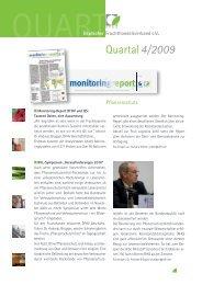 Quartal4/2009 - Deutscher Fruchthandelsverband e.V.