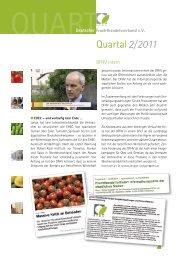Quartal2/ 2011 - Deutscher Fruchthandelsverband e.V.