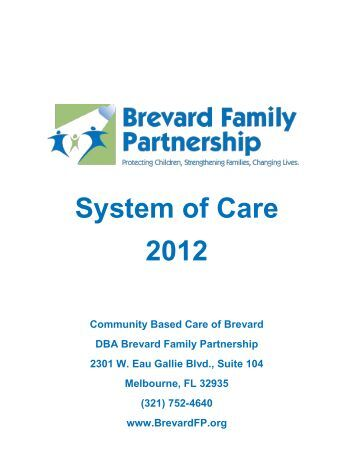 System of Care 2012 - Brevard Family Partnership