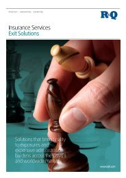 Insurance Services Exit Solutions
