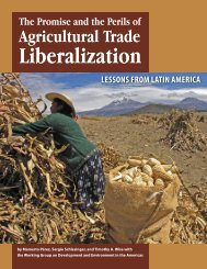 The Promise and Perils of Agricultural Trade ... - Tufts University