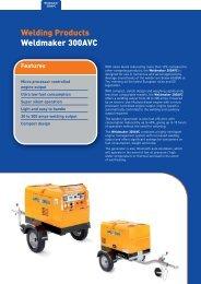 Welding Products Weldmaker 300AVC - Welding Generators