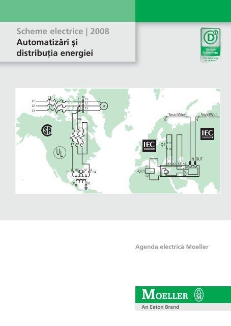 Scheme electrice 2008 - Moeller