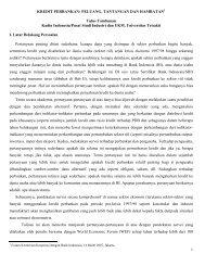 KREDIT PERBANKAN: PELUANG, TANTANGAN ... - Kadin Indonesia