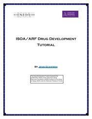 ISOA/ARF Drug Development Tutorial - Alzheimer's Drug Discovery ...