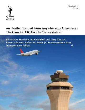 Air Traffic Control from Anywhere to Anywhere - Reason Foundation