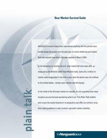 Bear Market Survival Guide