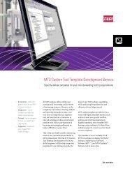 MTS Custom Templates