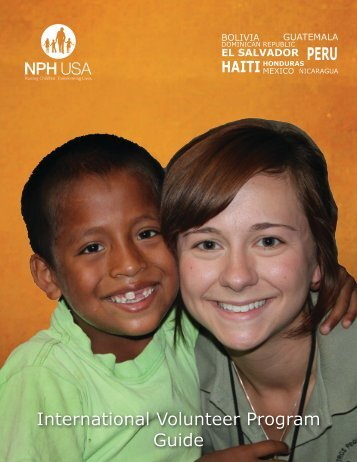 International Volunteer Program Guide - Friends of the Orphans