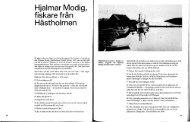 Hjalmar Modig, fiskare från Hästholmen - Ödeshögs hembygdsbok