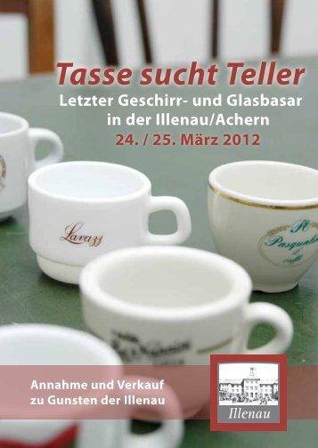 Tasse sucht Teller Letzter Geschirr - Forum ILLENAU