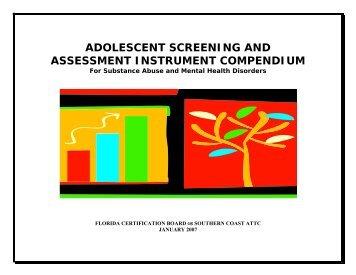 Adolescent Behavioral Health