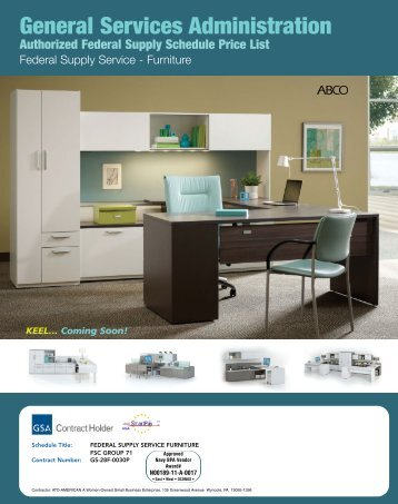 ABCO GSA - ABCO Office Furniture