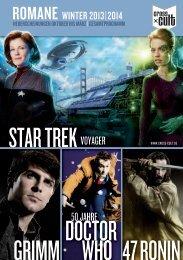 50 jahRe - Star Trek Romane