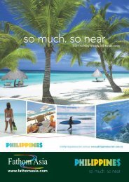Fathom Asia's online brochure for Philippines