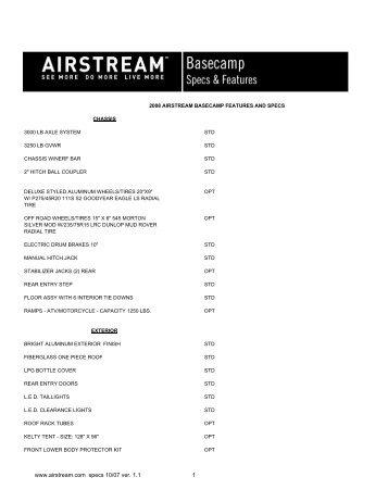 airstream-weights.pdf - Airstream Life magazine