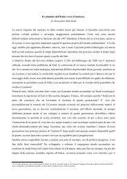 Il cammino dell'Italia verso il nucleare. di Alessandro Malchiodi La ...