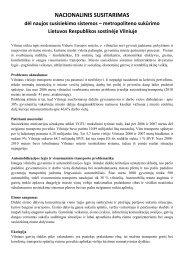 NACIONALINIS SUSITARIMAS dėl naujos ... - Vilniaus Metro