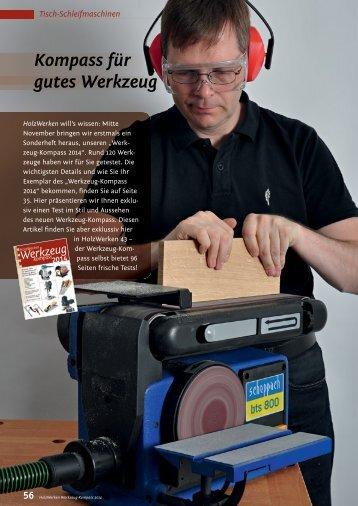 Kompass für gutes Werkzeug - HolzWerken