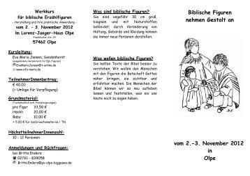Kurszeiten - Pastoralverbund Olpe-Biggesee