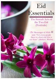 Eid Essentials [11292012] - AlHuda Sisters