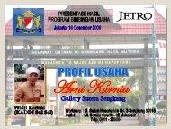 Pria kelahiran Sengkang 15 September 1964 ... - Kadin Indonesia