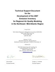 2007 Compiled Technical Support Documentation - MARAMA | Mid ...