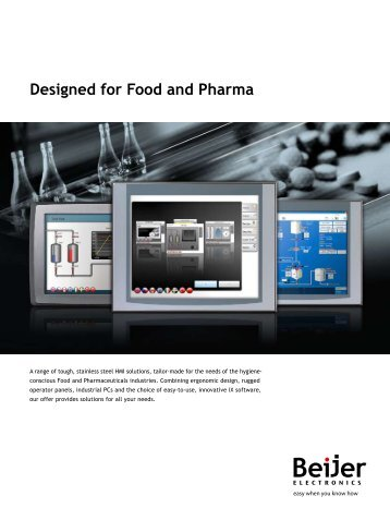 Designed for Food and Pharma - Elion