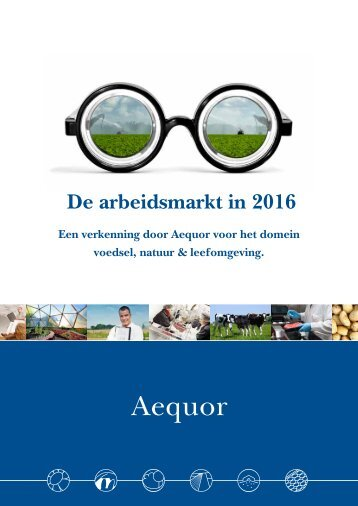 De arbeidsmarkt in 2016 (Aequor)