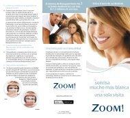 folleto para el paciente