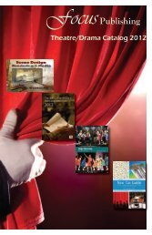 View the 2012 Theatre Catalog - Focus Publishing