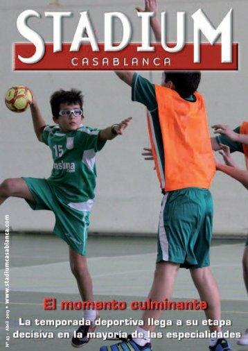 Abril 2013 - Stadium Casablanca