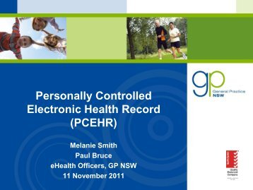 Personally Controlled Electronic Health Record (PCEHR) - GP NSW