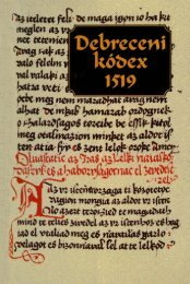 Debreceni kódex - Országos Széchényi Könyvtár