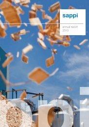 annual report 2010 - Sappi