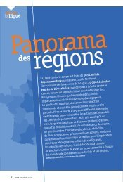 Panorama des régions