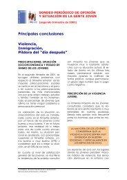 Principales conclusiones (267 Kb.) - Injuve