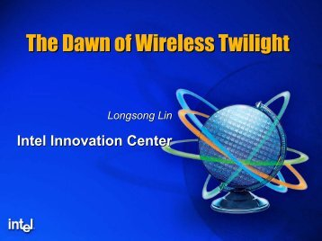 The Dawn of Wireless Twilight