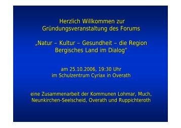 Natur – Kultur – Gesundheit – die Region ... - Gemeinde Much