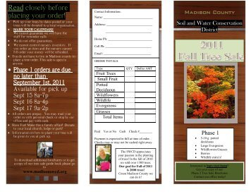 DECIDUOUS POTTED TREES - Madison County Soil and  Water ...