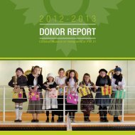 Donor Report 2013 - Pier 21