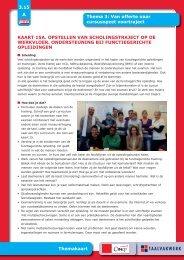 Kaart 15a: opstellen van scholingstraject op de ... - Taalwerkt.nl