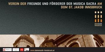 Verein der Freunde und Förderer der Musica sacra aM doM st ...