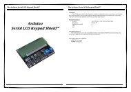 Arduino Serial LCD Keypad Shield™ - ThaiEasyElec.net