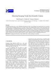 Detecting Emerging Trends from Scientific Corpora