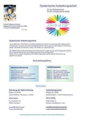 Systemische Aufstellungsarbeit für Therapeuten oder ... - ViaSanitas