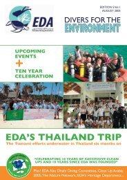 EDA August 2005.indd - Emirates Diving Association