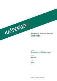Kaspersky Security Bulletin 2012 final - Kaspersky Lab – Newsroom ...